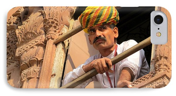 Jodhpur Fort Guard IPhone Case