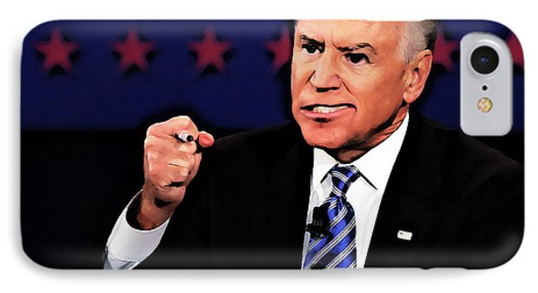 Joe Bidencaricature IPhone Case by Anthony Caruso