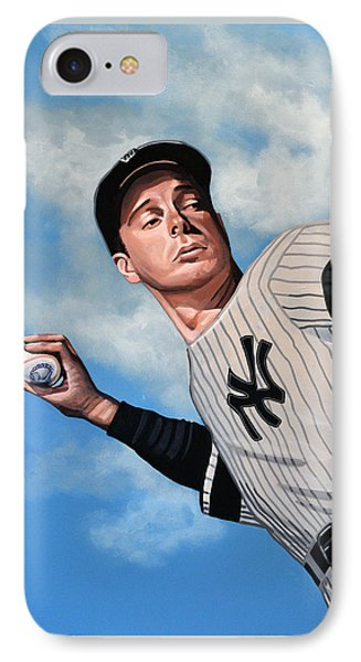 Joe Dimaggio IPhone Case
