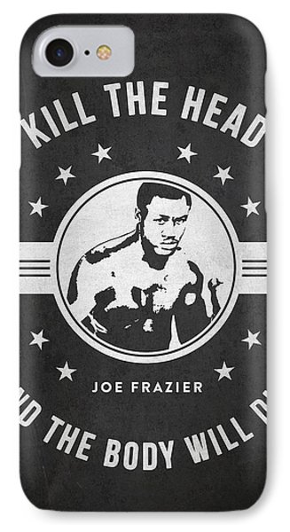 Joe Frazier - Dark IPhone Case by Aged Pixel
