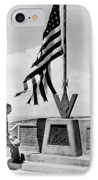Joe Rosenthal On Iwo Jima IPhone Case