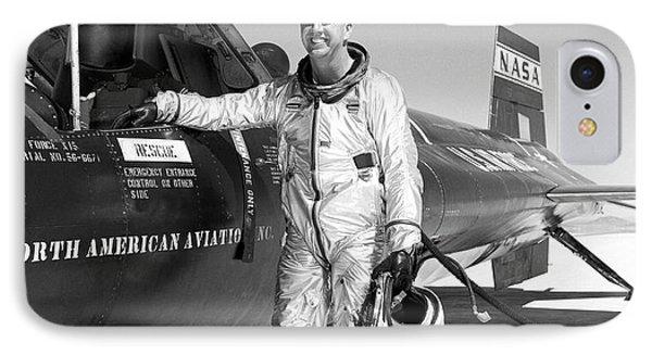 Joe Walker As X-15 Test Pilot IPhone Case by Nasa