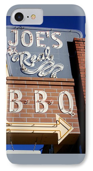 Joes Real Bbq IPhone Case