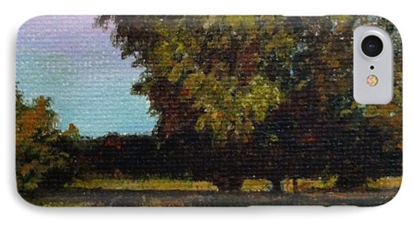 Jogging Trail At Two Rivers Park Phone Case by Amber Woodrum