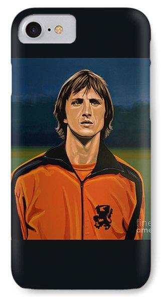 Johan Cruyff Oranje IPhone Case