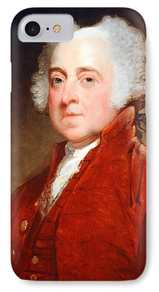 John Adams By Gilbert Stuart IPhone Case