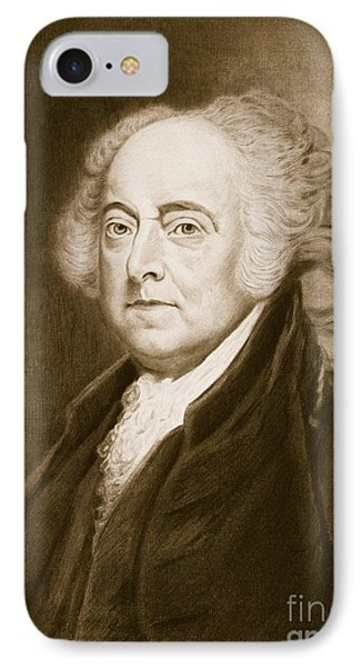 John Adams IPhone Case by George Healy