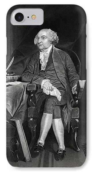 John Adams IPhone Case by Historic Image