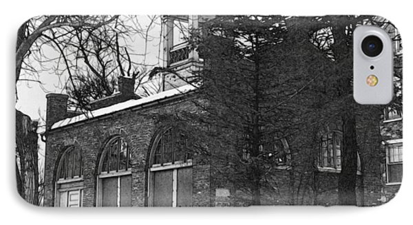 John Brown Fort Shenandoah Street Harpers Ferry West Virginia IPhone Case by David Blank