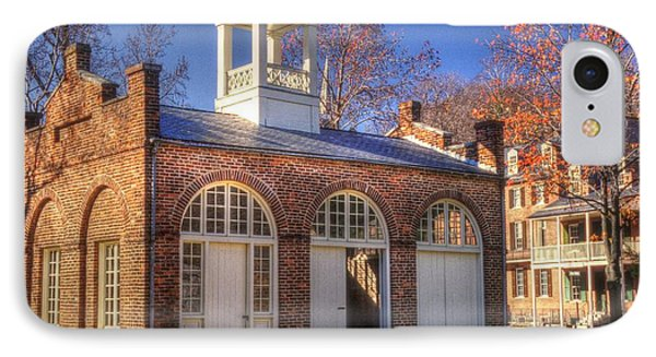 John Browns Fort - Harpers Ferry West Virginia - Modern Day Autumn Phone Case by Michael Mazaika