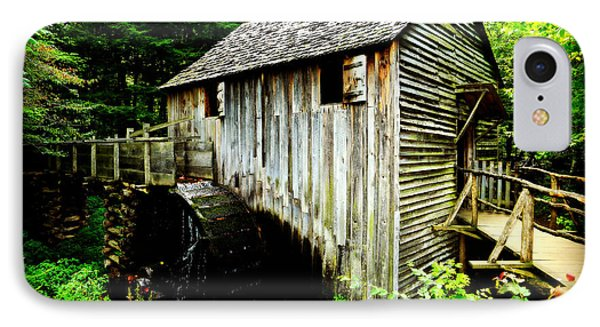 John Cable Grist Mill - Poster IPhone Case by Stephen Stookey