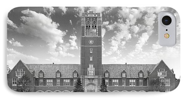 John Carroll University Administration Building IPhone Case by University Icons