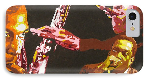 John Coltrane A Love Supreme Phone Case by Ronald Young