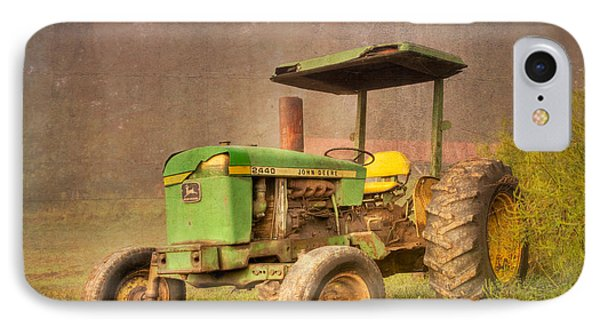 John Deere 2440 IPhone Case by Debra and Dave Vanderlaan
