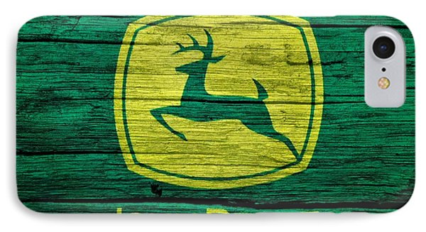 John Deere Barn Door IPhone Case by Dan Sproul