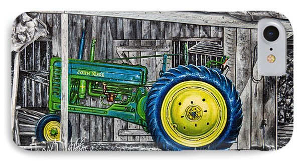John Deere Green IPhone Case by Craig T Burgwardt