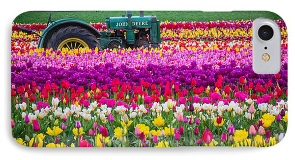 John Deere In Spring IPhone Case by Patricia Babbitt