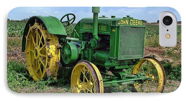 John Deere Tractor Hdr IPhone Case