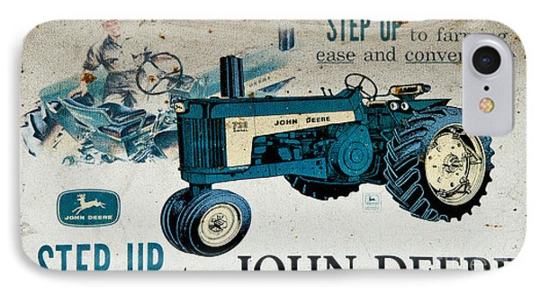 John Deere Tractor Sign IPhone Case