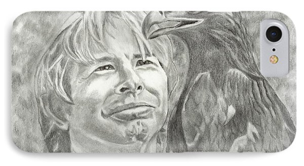 John Denver And Friend IPhone Case by Carol Wisniewski