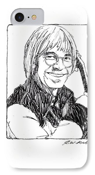 John Denver Phone Case by J W Kelly