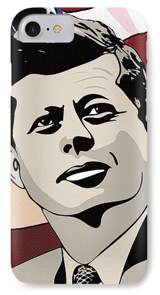 John F. Kennedy 1st Irish Catholic President  IPhone Case