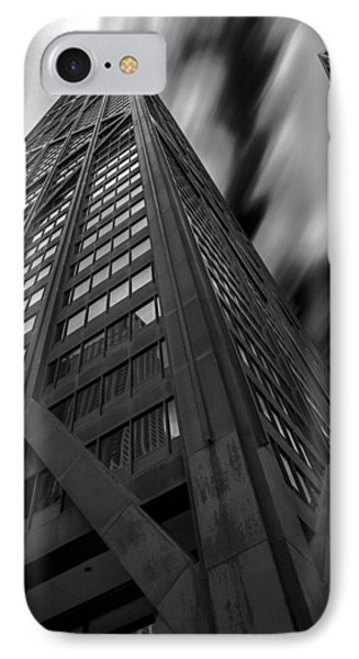 John Hancock Building 73a7300 IPhone Case by David Orias