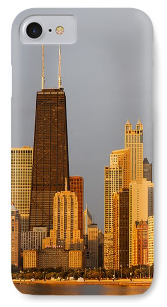 John Hancock Center Chicago Phone Case by Adam Romanowicz