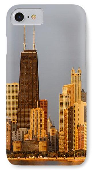 John Hancock Center Chicago IPhone Case by Adam Romanowicz