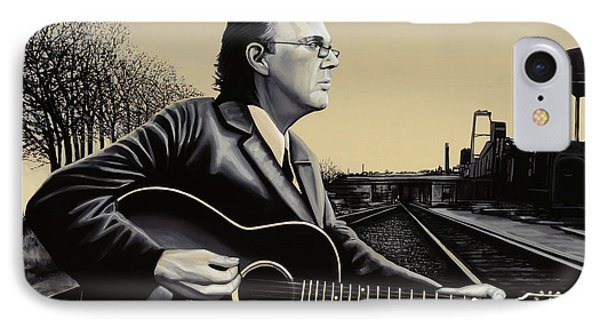 John Hiatt Painting IPhone Case by Paul Meijering