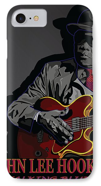 John Lee Hooker Phone Case by Larry Butterworth