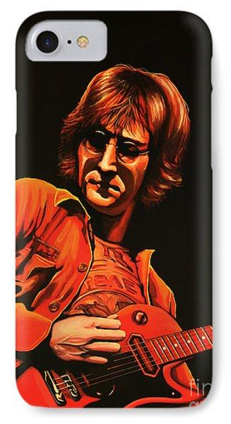 John Lennon Painting IPhone Case by Paul Meijering