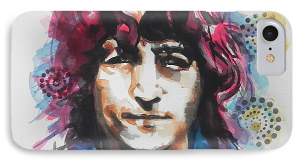 John Lennon..up Close IPhone Case