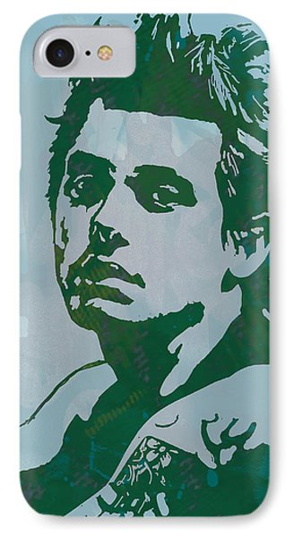John Mayer - Pop Stylised Art Sketch Poster IPhone Case by Kim Wang