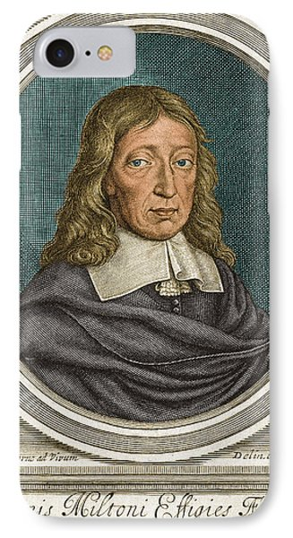 John Milton, English Poet IPhone Case by Science Source