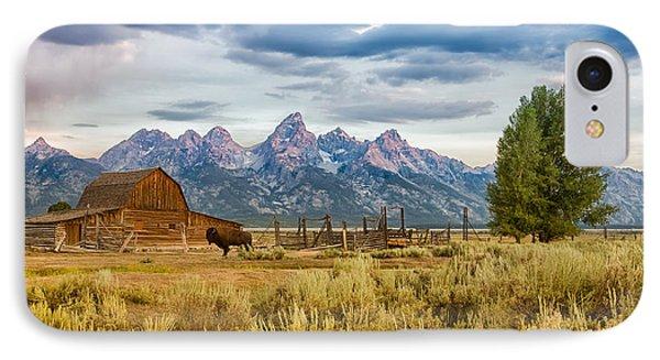 John Moulton Barn - Grand Teton National Park IPhone Case
