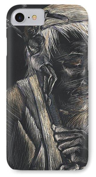 John Paul II IPhone Case by Michelle Miller