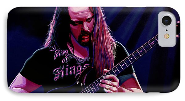 John Petrucci Painting IPhone 7 Case by Paul Meijering