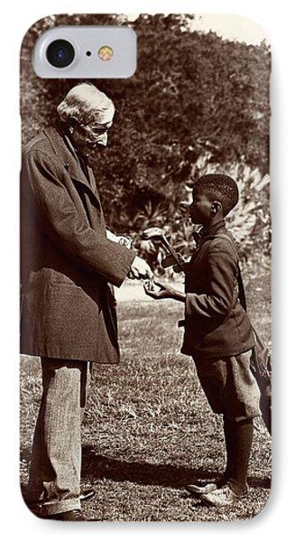 John Rockefeller IPhone Case by American Philosophical Society