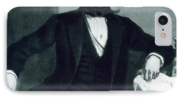 John Tyler IPhone Case by George Healy