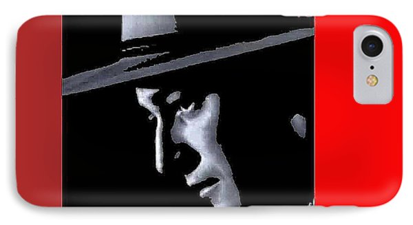 IPhone Case featuring the photograph John Wayne As The Ringo Kid Stagecoach 1939-2013 by David Lee Guss