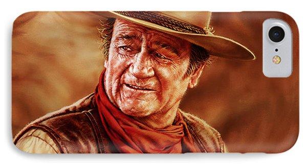 John Wayne Phone Case by Dick Bobnick