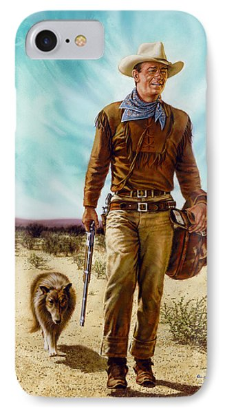 John Wayne Hondo IPhone Case