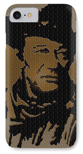 John Wayne Lives IPhone Case by Robert Margetts