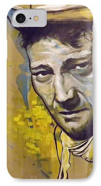 John Wayne IPhone Case by Matt Burke