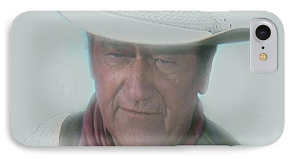 John Wayne IPhone Case by Randy Follis