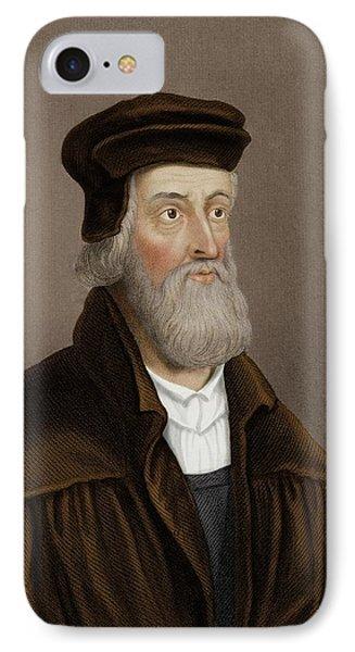 John Wycliffe IPhone Case by Maria Platt-evans