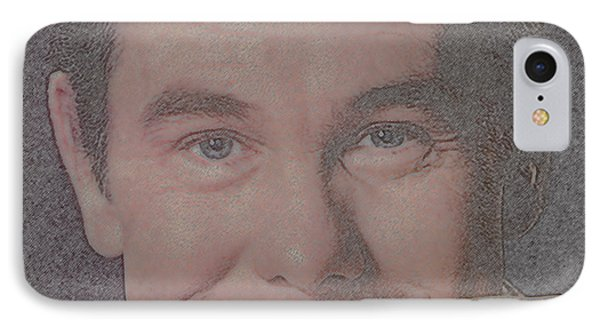 Johnny Carson IPhone 7 Case by Douglas Settle