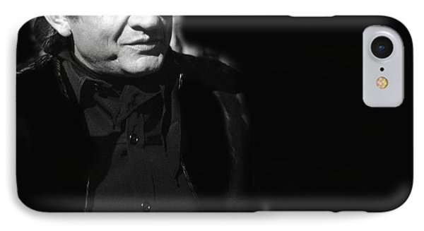 IPhone Case featuring the photograph Johnny Cash Film Noir Homage Old Tucson Arizona 1971 by David Lee Guss