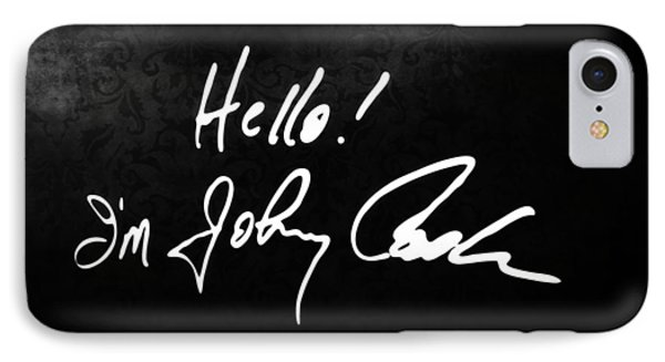 Johnny Cash Museum IPhone Case